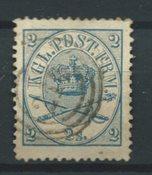 Danimarca 1864 - AFA 11 - timbrato