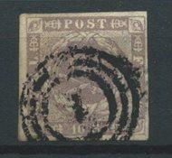 Danimarca 1854 - AFA 6 - timbrato