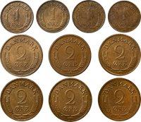 """Coin set Denmark """"Haekkerup set"""