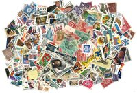 Etats-Unis - 800 timbres oblitérés différents