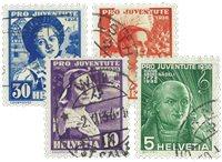 Schweiz 1936 - MICHEL 306/09 - Stemplet