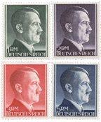 Tyskland - Tyske Rige 1941 - MICHEL 799/802B - Postfrisk