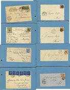 Danmark - Samling af breve og postkort
