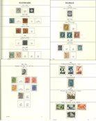 Pays Nordiques env. 1854-1961 - Collection dans un  album préimprimé