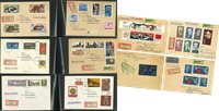 German Democratic Republic - Collection of covers in 2 ring binders