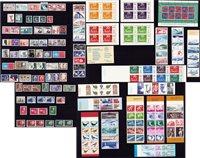 Sverige - Postfrisk lot 5 årgange 1966+68+70+72+74