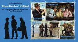 Danmark - Olsen-Banden i Jylland - Postfrisk miniark