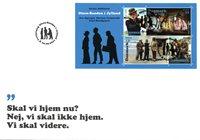 Danmark - Olsen-Banden i Jylland - FDC med miniark