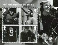 England - Paul McCartney - Postfrisk miniark