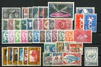 Belgien 1958 - Postfrisk