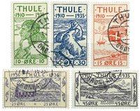 Grönlanti - Thule. Täydellinen sarja.