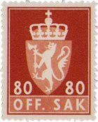 Norge - AFA TJ86  - Postfrisk