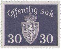 Norge - AFA TJ57 - Postfrisk