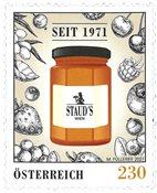 Østrig - STAUD's - Postfrisk frimærke