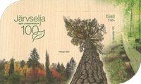 Estland - 100 år Järvselja - Postfrisk miniark
