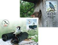 Estland - 100-året for ornitologisk forening - Maximumskort
