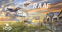 Australien - RAAF - Stemplet miniark