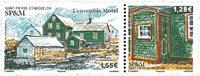 St. Pierre & Miquelon - Ensemble Morel - Postfrisk frimærke