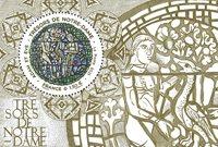 France - Notre Dame Adam & Eve - Bloc-feuillet neuf