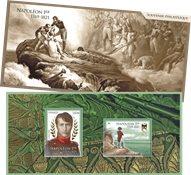 Frankrig - Napoleon - Postfrisk miniark i folder