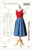 Østrig - Murbodner kjole - Postfrisk frimærke