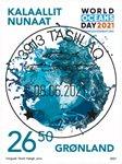 FN's verdens havdag - Centralt dagstemplet - Frimærke