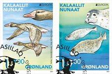 EUROPA - Truede dyrearter - Førstedagsstemplet - Sæt