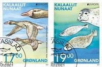 EUROPA - Truede dyrearter - Dagstemplet - Sæt