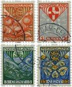 Nederland 1926 - NVPH R74-R77 - Gebruikt - Gebruikt