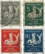 Nederland 1929 - NVPH R82-R85 - Gebruikt