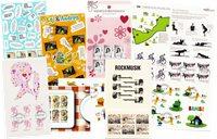 Danmark 2011-2014 - 10 forskellige temaark - Stemplet