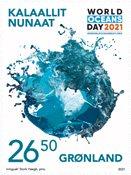 Greenland - UN World Ocean Day - Mint stamp