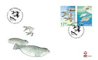 Greenland - EUROPA 2021 Endangered National Wildlife - First Day Cover