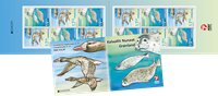 Greenland - EUROPA 2020 Endangered National Wildlife - Mint adhesive booklet