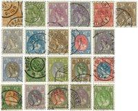 Holland 1921 - NVPH 56-76 - Stemplet
