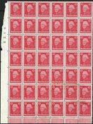 German Empire - AFA 389 in 42 blok - Mint