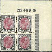Danmark - AFA 151 i marginal blok - Postfrisk