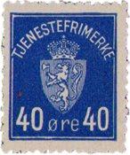 Norge - AFA TJ6  - Postfrisk