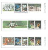 Danmark 2009 - 3 miniark - AFA 1582-1584 - Postfrisk
