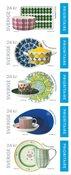 Suède - Dessins de porcelaine - Carnet neuf