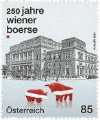 Austria - Stock exchange in Vienna - Mint stamp