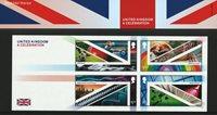 England - A Celebration - Souvenirmappe