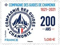 France - Guides de Chamonix - Mint stamp