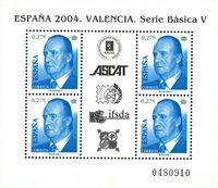 Spanien - Valencia - Postfrisk miniark