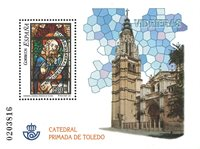 Spanien - Toledo katedralen - Postfrisk miniark