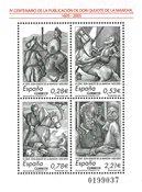 Spanien - Don Quijote - Postfrisk miniark
