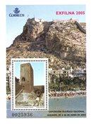Spanien - Exfilna 2005 - Postfrisk miniark