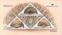 Spanien - Vifter - Postfrisk miniark