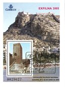 Spanien - Exfilna 2005 - Stemplet miniark