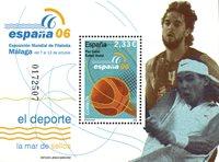 Spanien - Sport - Postfrisk miniark